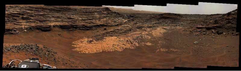 Curiosity MastCam left sol 992