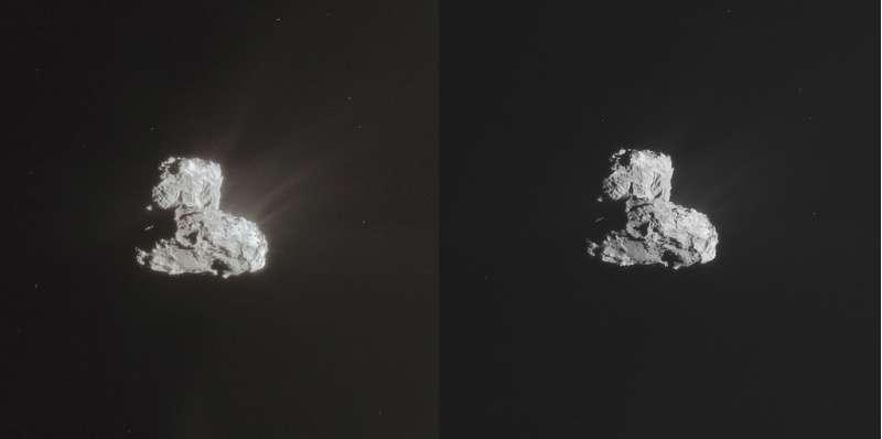 Rosetta NavCam - 67P 26 February 2015