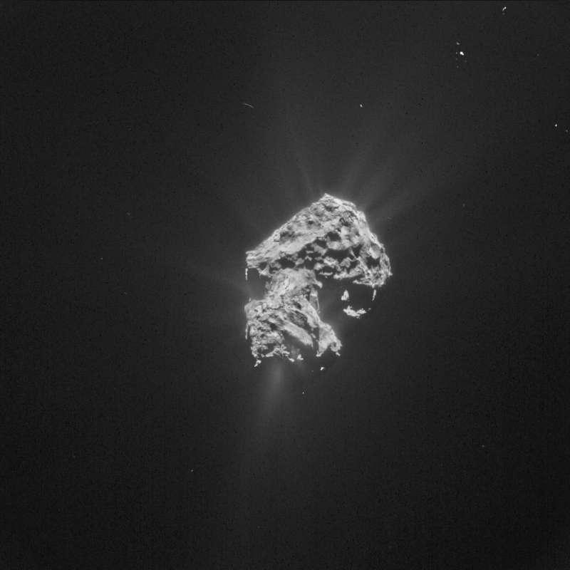 ESA Rosetta NavCam 20 may 2015