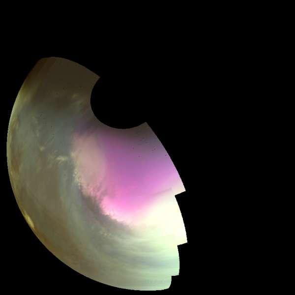 IUVS - polo sud di Marte