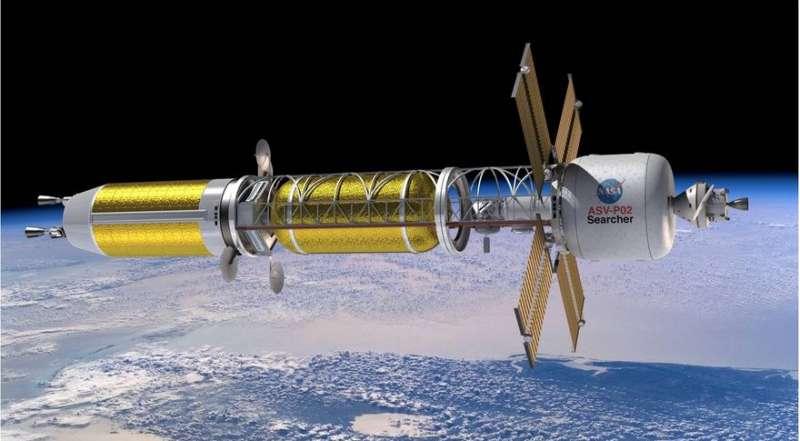 nasa ntp spaceship