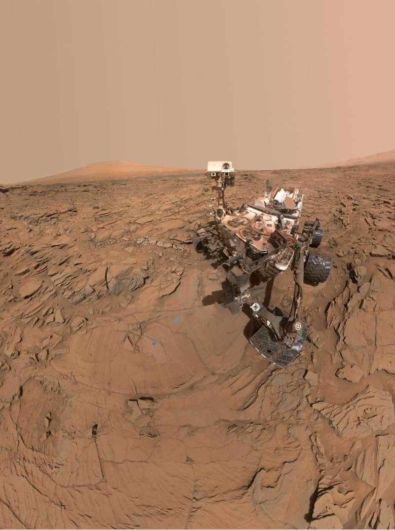 Curiosity Selfie sol 1338