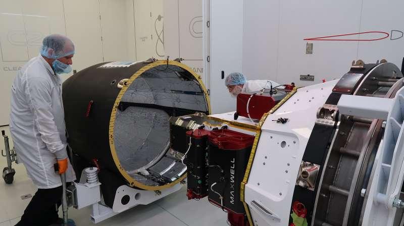 rocketlab flight16 encapsulation