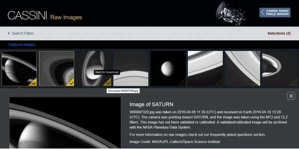 Missione Cassini - screenshot