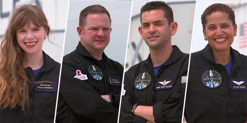 spacex inspiration4 crew full 30032021