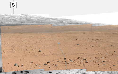 Curiosity sol 349 - mount Sharp