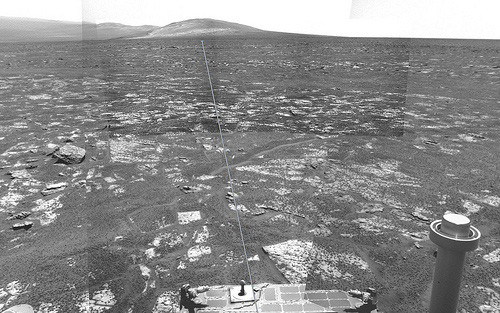 Opportunity sol 3351 - Solander Point