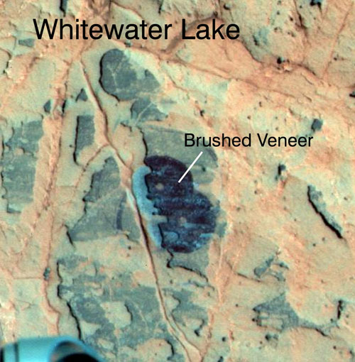 Opportunity - affioramento Whitewater Lake