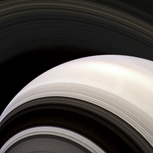 Saturn on August 17, 2014 from about 1,040,000 kilometers W00089004-06 - RED GRN BL1