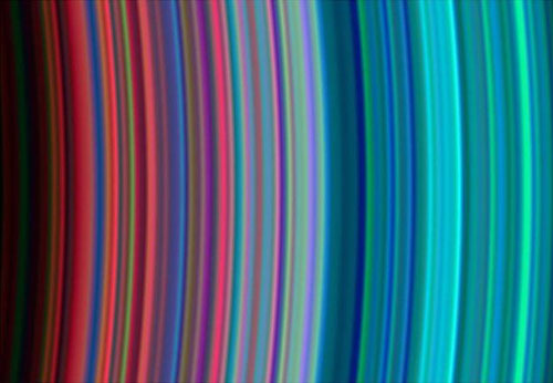 Saturn Ring - raimbow