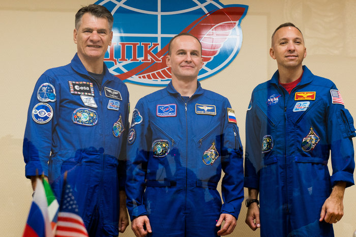 Prime crew during the pre launch press conference node full image 2