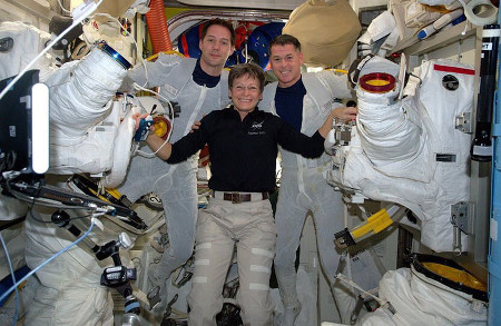 iss exp50 eva39 peggy kimbrough pesquet after