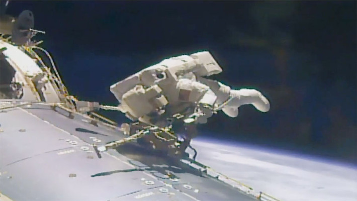 iss exp51 eva42 fisher
