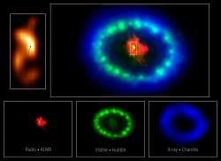 Una stella di neutroni che gioca a nascondino