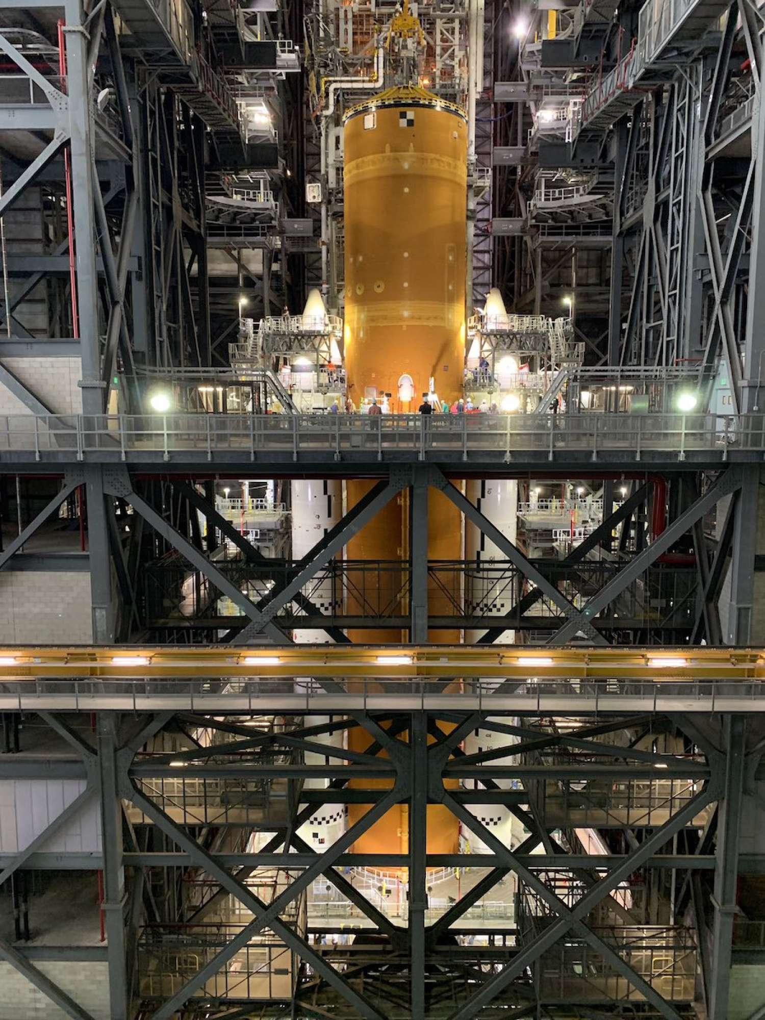 Artemis: Quasi pronto SLS 1
