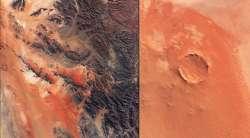 Cratere nel deserto