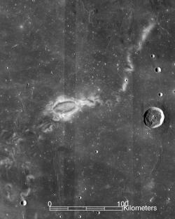 Vortice lunare Reiner Gamma.