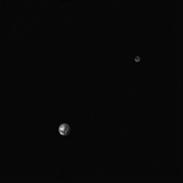 Pluto on 29 june 2015 - New Horizons LORRI