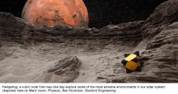 Continuano i test su Hedgehog, il cubo-rover per l'esplorazione di asteroidi e comete