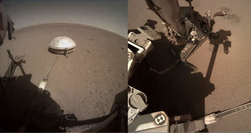 Sol 295, ICC (left) and IDC cameras
