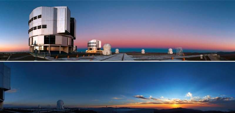 Tramonto a Paranal
