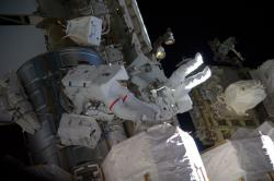 ISS Exp50 EVA41 - Kimbrough Whitson