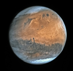 Mars by ESA Rosetta - OSIRIS NAC - February 2007