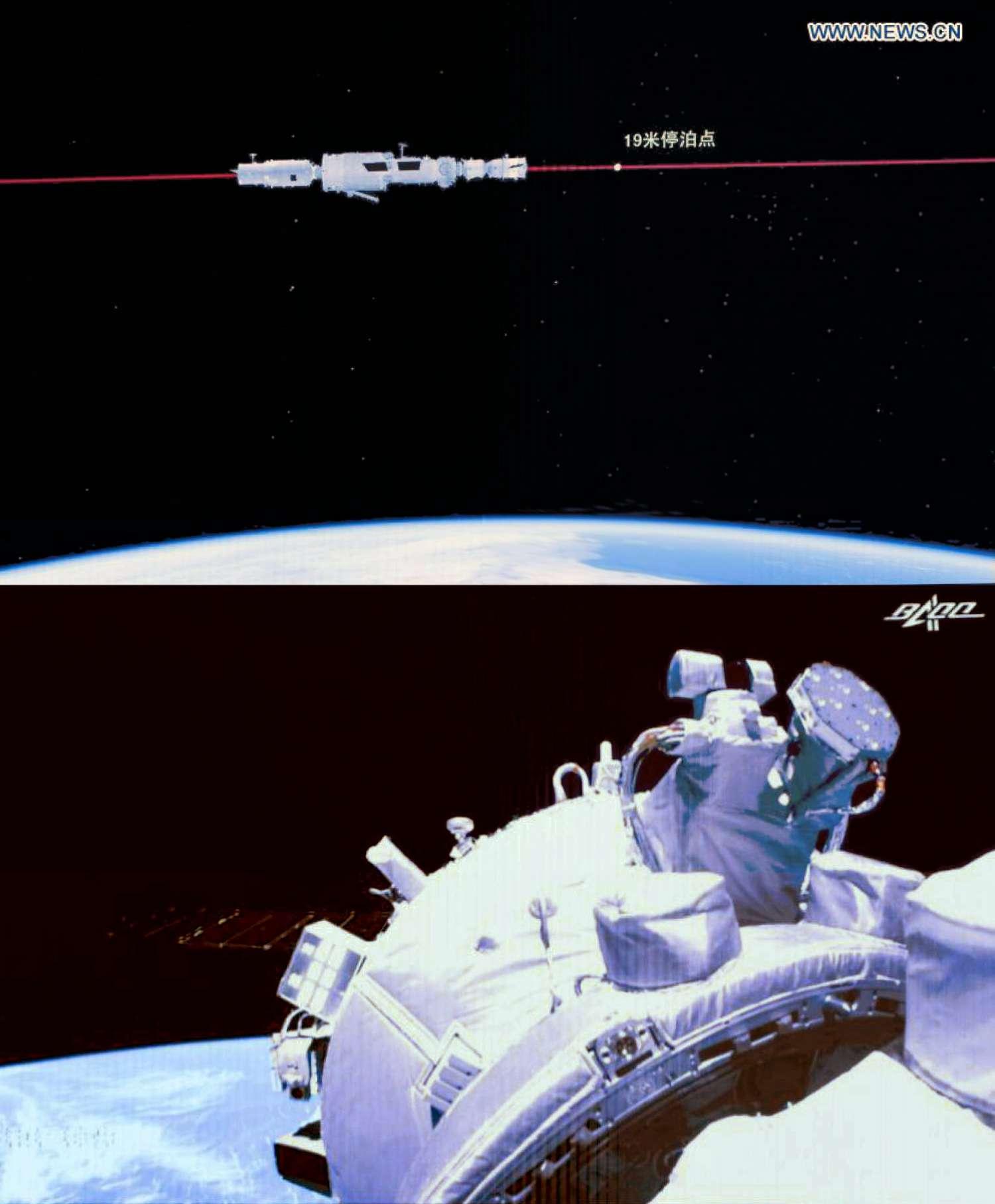 Primo equipaggio sulla Stazione Spaziale Cinese