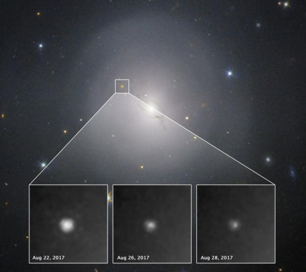 Il merging visto da Hubble