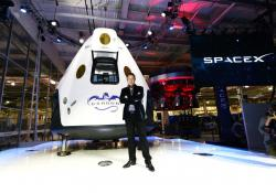 Elon Musk e la Dragon 2