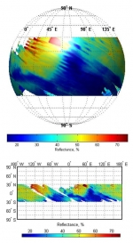 MOM - Methane Sensor for Mars (MSM): riflettanza di Marte a 1,65 micron