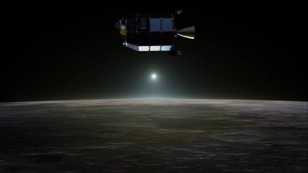 Lunar Atmosphere and Dust Environment Explorer (LADEE) - rappresentazione artistica
