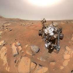 Perseverance: continua la tradizione dei selfie su Marte