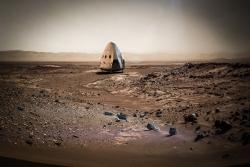 Martemania: la SpaceX invierà una Red Dragon su Marte nel 2018
